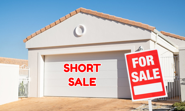 How do I find a home listed as a short sale
